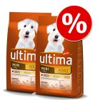 Ekonomipack: 2 påsar Ultima hundfoder till lågt pris!