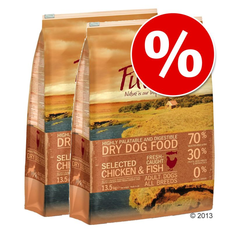 Ekonomipack: Purizon hundfoder 2 x 12 kg
