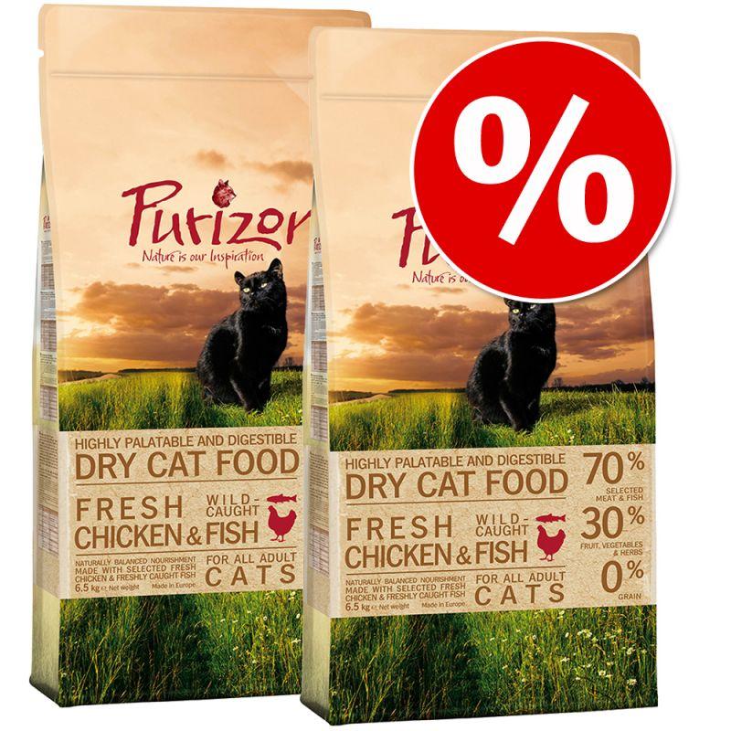 Ekonomipack: Purizon torrfoder 2 x 6,5 kg