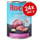 Ekonomipack: Rocco Junior 24 x 400 g
