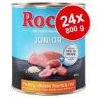 Ekonomipack: Rocco Junior 24 x 800 g