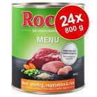 Ekonomipack: Rocco Menu 24 x 800 g