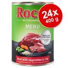Ekonomipack: Rocco Menu 24 x 400 g