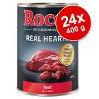 Ekonomipack: Rocco Real Hearts 24 x 400 g