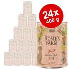 Ekonomipack: Rosie's Farm Adult 24 x 400 g