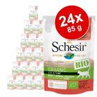 Ekonomipack: Schesir Bio Pouch 24 x 85 g
