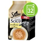 Ekonomipack: Sheba Classic Soup Pouch 32 x 40 g