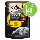 Ekonomipack: Sheba Craft Collection 48 x 85 g