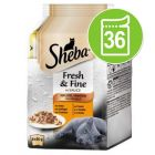 Ekonomipack: Sheba Fresh & Fine 36 x 50 g