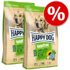 Ekonomipack: 2 stora påsar Happy Dog NaturCroq