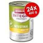 Ekonomipack: 24 x 400 g Animonda Integra Protect i konservburk