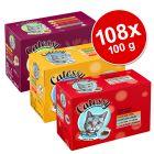 Ekonomipack: 108 x 100 g Catessy bitar i gelé och sås