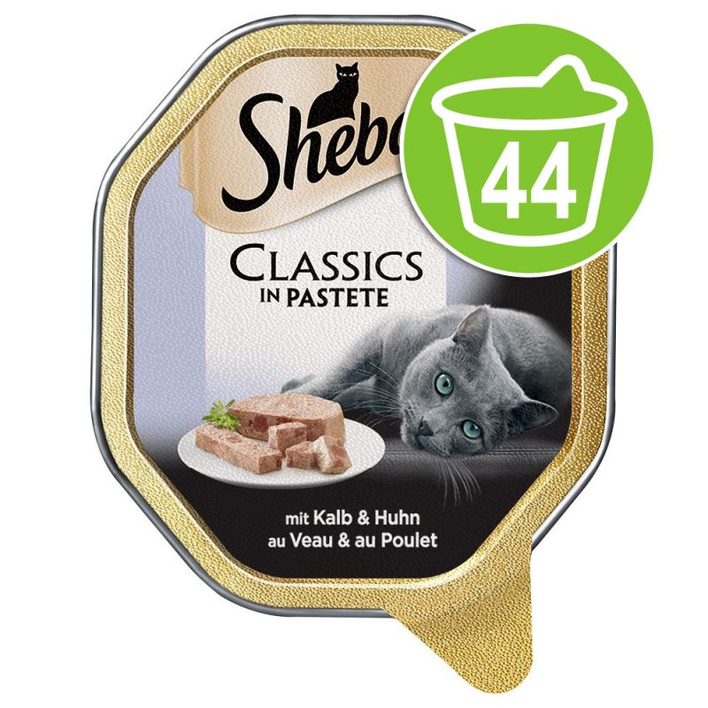 Ekonomipack: 44 x 85 g Sheba portionsform