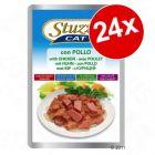Ekonomipack: 24 x 100 g Stuzzy Cat i portionspåse