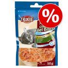 Ekonomipack: 3 x 50 g Trixie Premio Chicken Filet