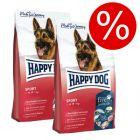 Ekonomipack: 2 x 12/14 kg Happy Dog Supreme Fit & Vital