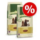 Ekonomipack: 2 x 10/15 kg James Wellbeloved hundfoder
