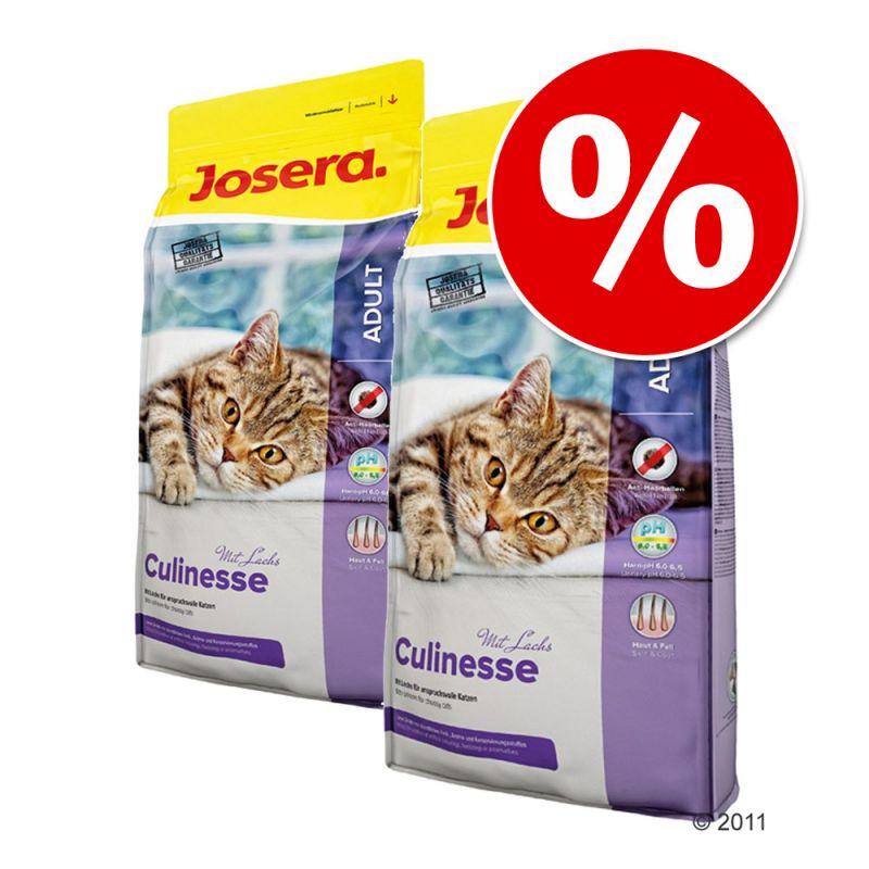 Ekonomipack: 2 x 10 kg Josera kattfoder