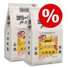 Ekonomipack: 2 x 7 kg MAC's Superfood for Cats torrfoder