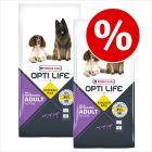 Ekonomipack: 2 x 12 kg Opti Life hundfoder