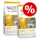 Ekonomipack: 2 x 12 kg Wolf of Wilderness hundmat