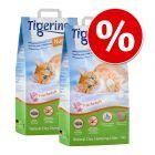 Ekonomipack: 2 x 14 l Tigerino Nuggies kattsand