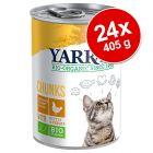 Ekonomipack: Yarrah Organic Chunks 24 x 405 g