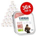 Ekonomipack: Yarrah Organic i portionsform 36 x 150 g