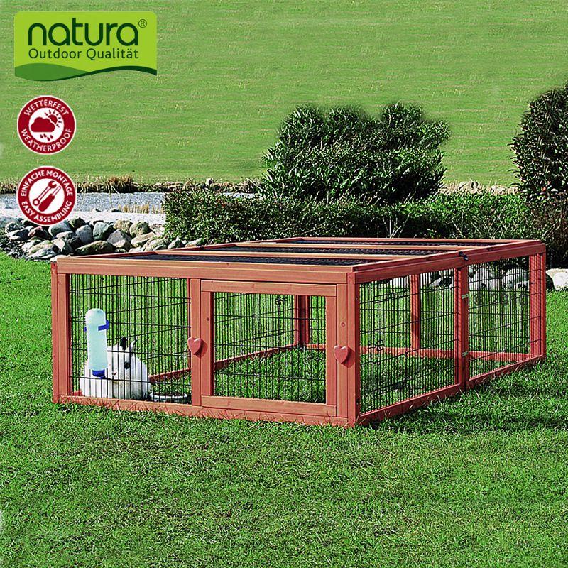 Enclos Trixie Natura, en bois, pour rongeur et lapin