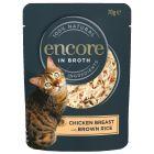 Encore Cat Broth Pouch Multibuy 48 x 70g