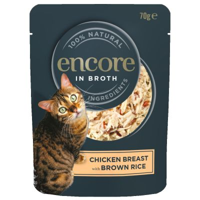 Encore Cat Broth Pouch 16 x 70g