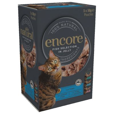 Encore Cat Jelly Pouch Multipack 20 x 50g