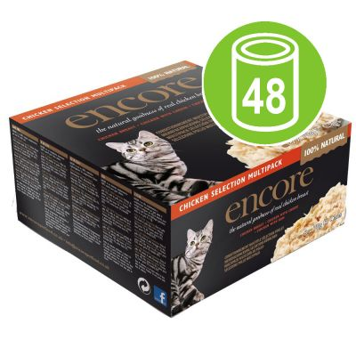 Encore Cat Tin Saver Pack 48 x 70g