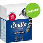 Enpack: Smilla Chunks i sås eller gelé 1 x 370 / 380 g