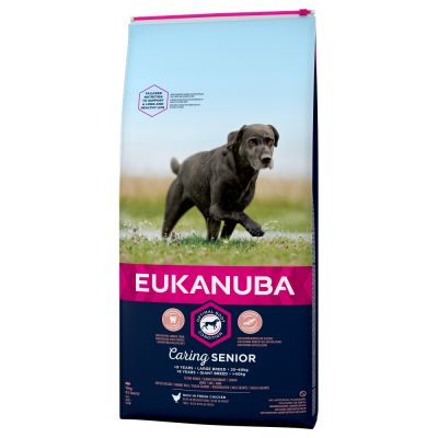 Eukanuba Caring Senior Large Breed frango