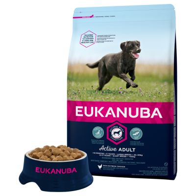 Eukanuba Active Adult Large Breed Chicken