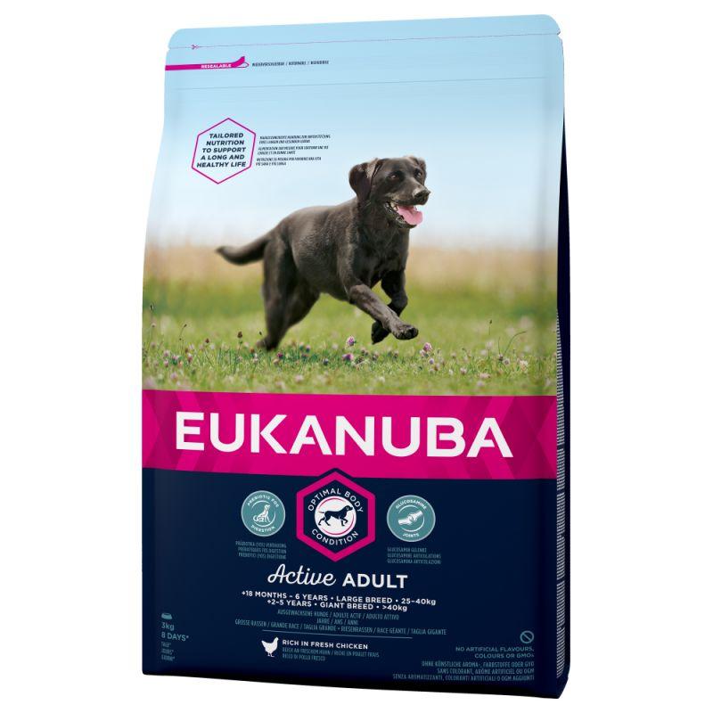 Eukanuba Active Adult Large Breed Chicken