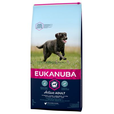 Eukanuba Active Adult Large Breed csirke