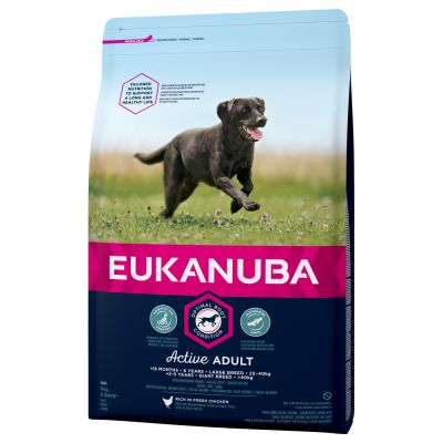Eukanuba Active Adult Large Breed, kurczak