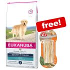 Eukanuba Adult Breed Dry Dog Food + 8in1 Delights Chews Sticks Free!*