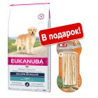 Eukanuba Adult Breed + 8in1 Delights в подарок!