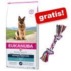 Eukanuba Adult Breed + Trixie kolorowa lina do zabawy dla psa gratis!