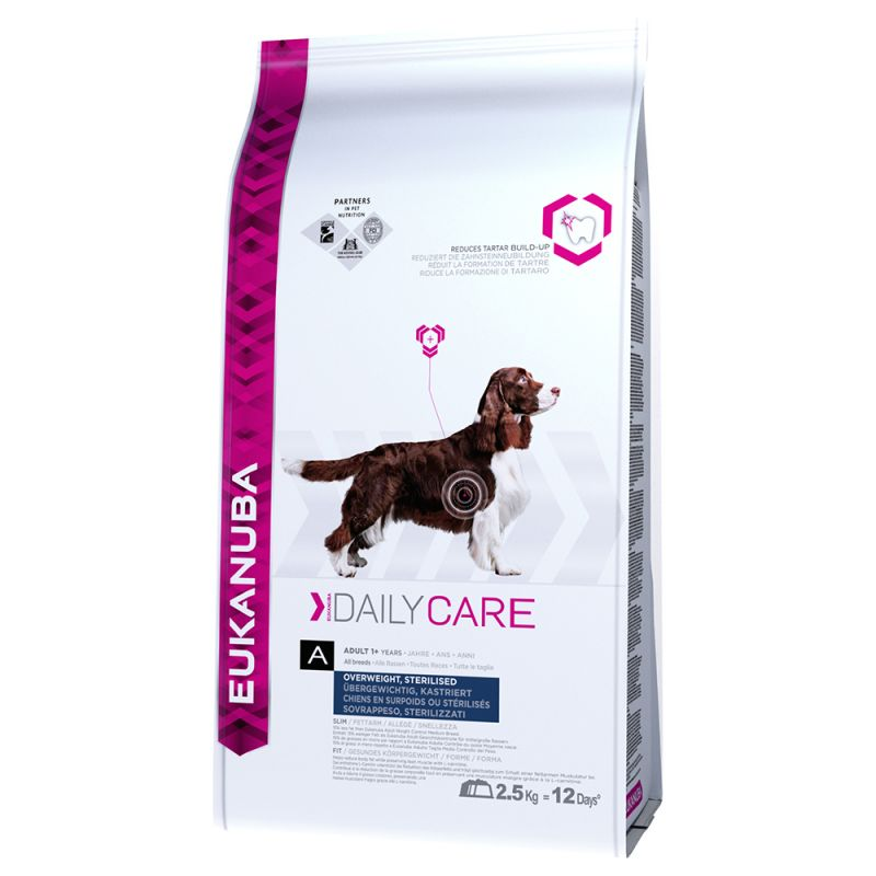 Eukanuba Adult Daily Care Overweight / Sterilised pour chien
