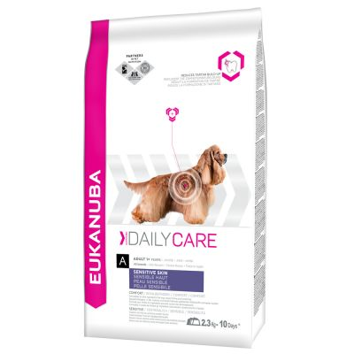 Eukanuba Adult Daily Care Sensitive Skin pour chien