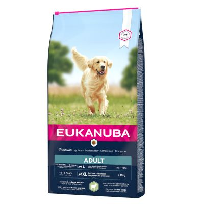 Eukanuba Adult Large Breed com cordeiro e arroz
