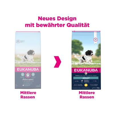 Eukanuba Adult Medium Breed Kip Hondenvoer