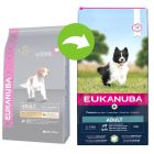 Eukanuba Adult Small and Medium Breed com cordeiro e arroz