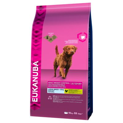 Eukanuba Adult Weight Control Large Breed Kip Hondenvoer