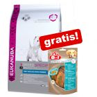 Eukanuba Breed tørfoder + 8in1 Snacks gratis!