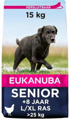 Eukanuba Caring Senior Large Breed Kip Hondenvoer